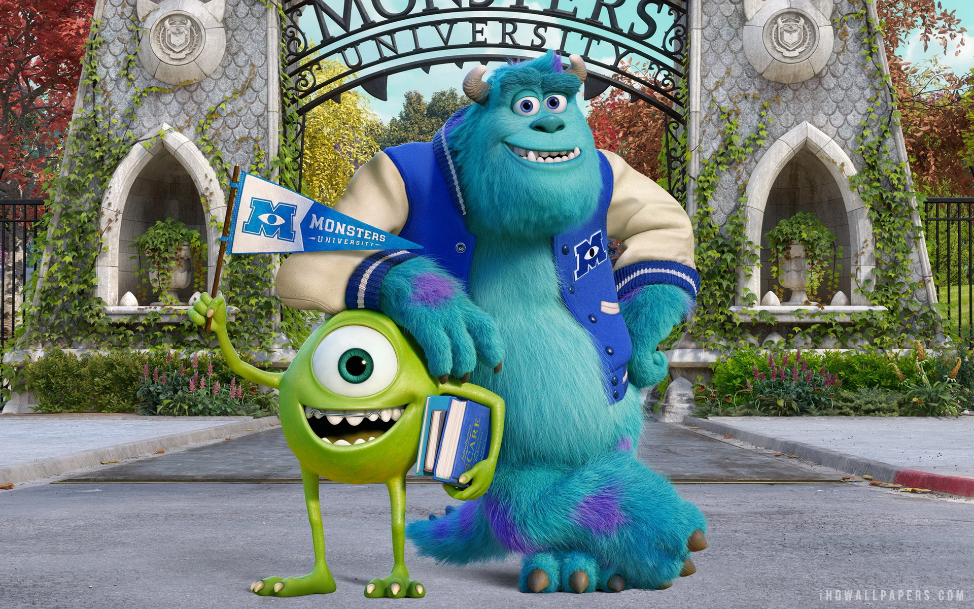 Pixar-Monsters-University-HD-Wallpaper