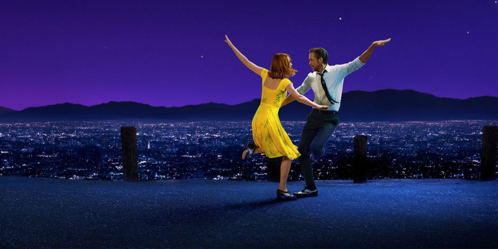 la la land - Moonlight Oscary