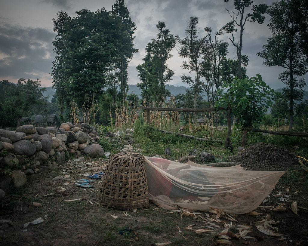 Chaupadi shed, Narsi village, Nepal.